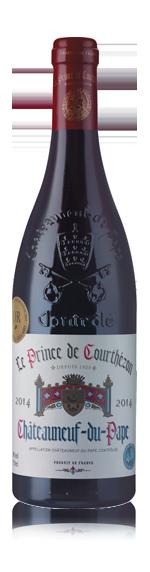 vin Le Prince De Courthézon Châteauneuf-du-Pape 2014 Grenache