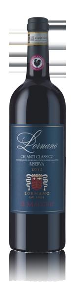 vin Lornano 'Le Macchie' Chianti Riserva Classico 2012 Sangiovese