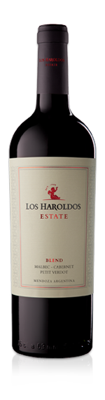 vin Los Haraldos Estate Blend 2016 Malbec 60% Malbec, 30% Cabernet Sauvignon, 10% Petit Verdot Mendoza