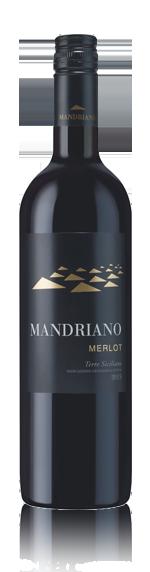 vin Mandriano Merlot Sicilia Igp 2015 Merlot
