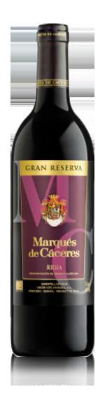 Marqués De Cáceres Rioja Gran Reserva 2009 Tempranillo
