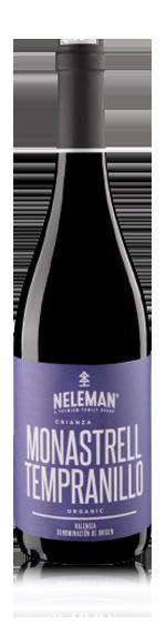 vin Neleman Monstrell-Tempranillo Crianza 2014 Monastrell