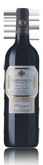 vin Primicia Carravacas Reserva Rioja 2010 Tempranillo