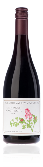 Pyramid Valley Earth Smoke Pinot Noir 2010 Pinot Noir