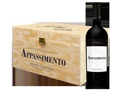 Rubini Appassimento 2014 (6 flaskor i trälåda)