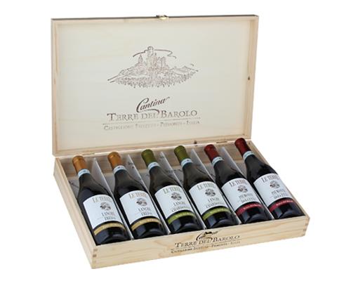 Selezione Piemonte (6 flaskor i trälåda)