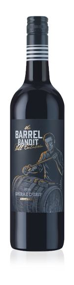 vin The Barrel Bandit Shiraz Durif 2016 Shiraz