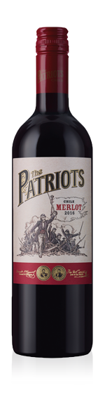 vin The Patriots Merlot 2016 Merlot