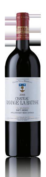 vin Château Ramage La Batisse Haut Medoc 2008 Cabernet Sauvignon