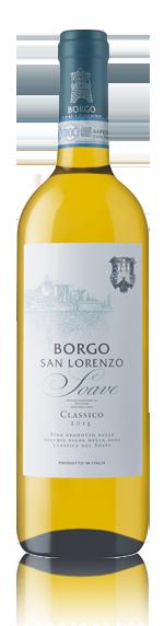 vin Borgo San Lorenzo Soave Classico Doc 2015 Garganega