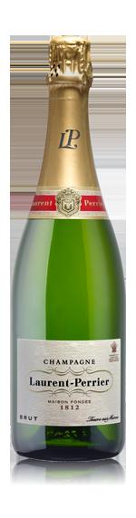 Champ Laurent Perrier Nv G/Box & Glasses Chardonnay