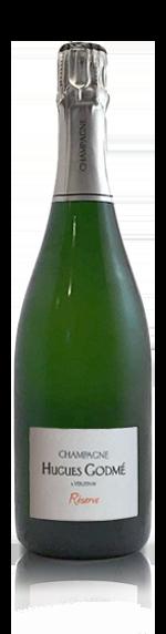 vin Champagne Hugues Godmé Brut Reserve Nv Chardonnay
