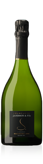 Champagne Janisson Grand Cru Millessime 2006 Chardonnay 50% Chardonnay, 50% Pinot Noir Champagne