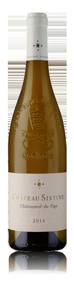 Chateau Sixtine Cndp Blanc 2014 Roussanne