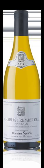 Domaine Servin Chablis Pc Vaillons 2014 Chardonnay