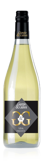 Giorgio & Gianni Viva Bianco Frizzante NV Pinot Grigio 80% Pinot Grigio, 20% lokala druvsorter Vino di Italia