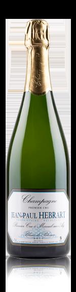 vin Jean-Paul Hebrart Blanc de blanc Brut 1er Cru Chardonnay
