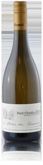 Les Allées du Domaine Petit Chablis 2014 Chardonnay