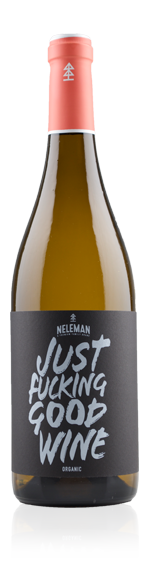 vin Neleman Just Fucking Good Wine Blanco 2015 Chardonnay