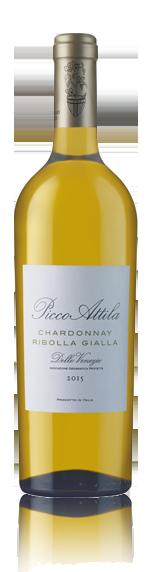 Picco Attila Chard Ribolla Gialla 2015 Chardonnay