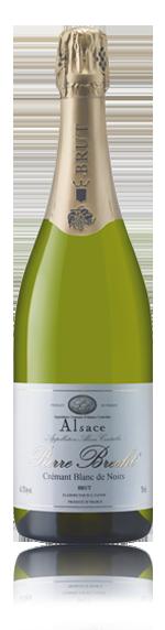 vin Pierre Brecht Cremant D' Alsace Nv Pinot Noir