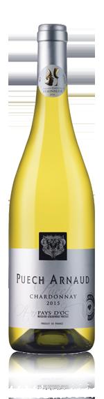 vin Puech Arnaud Chardonnay 2015 Chardonnay