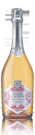 Roche Lacour Rose Crémant De Limoux 2017 Chardonnay 45% Chardonnay, 45% Chenin Blanc, 10% Pinot Noir Languedoc-Roussillon